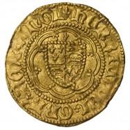 Henry VI Gold Quarter Noble Calais