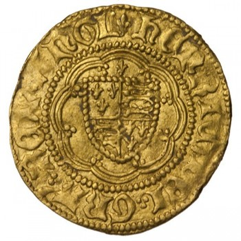 Henry VI Gold Quarter Noble Calais