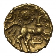 Dobunni 'Sunburst Little Horse' Gold Quarter Stater