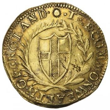 Commonwealth 1653 Gold Unite