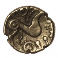 Iceni 'Snettisham Wreath' Gold Quarter Stater