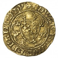 Edward III Gold Quarter Noble E