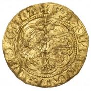 Edward III Gold Quarter Noble Calais