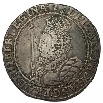 Elizabeth I Silver Halfcrown