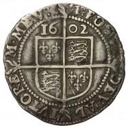 Elizabeth I Silver Sixpence 1602