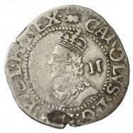 Charles I Silver Aberystwyth Halfgroat
