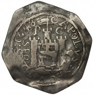 Charles I Pontefract Silver Shilling