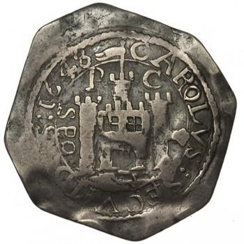 Charles I Pontefract Silver Shilling
