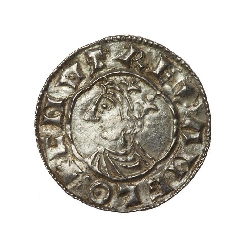 Cnut 'Quatrefoil' Silver Penny Colchester