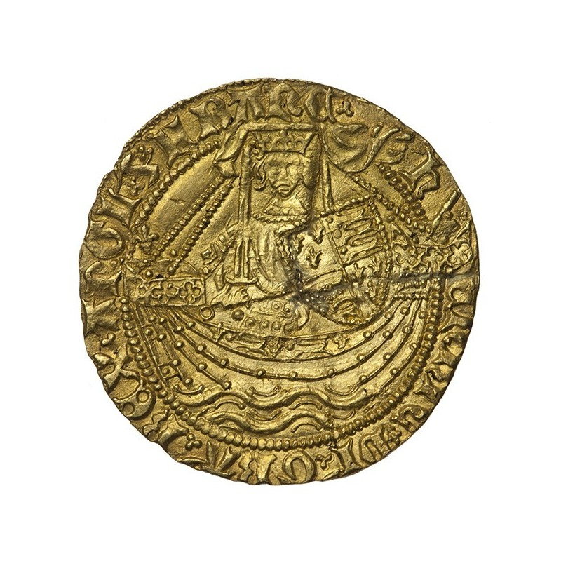 Henry VI Gold Half Noble York