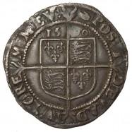 Elizabeth I Silver Sixpence 1590