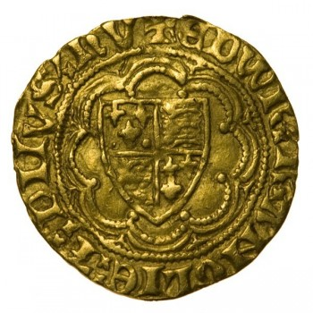 Edward III Gold Quarter Noble 1