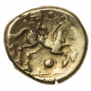 Catuvellauni 'Early Waddon Chase' Gold Stater