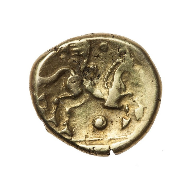 Catuvellauni 'Early Waddon Chase' Gold Stater