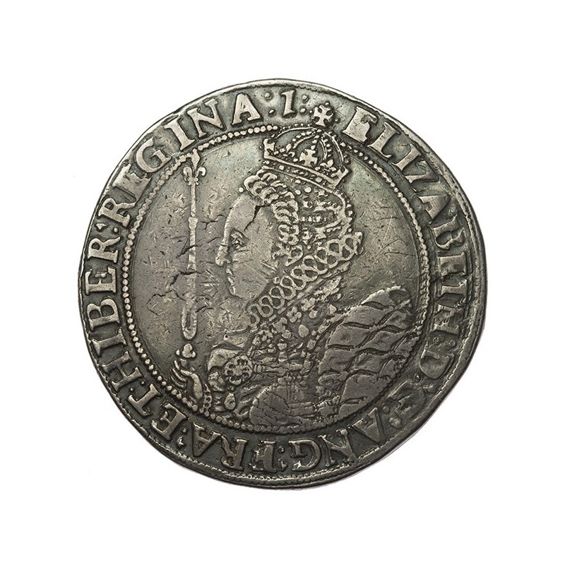 Elizabeth I Silver Crown