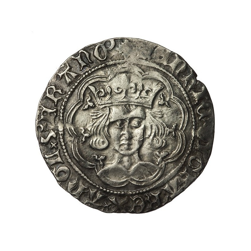 Henry VI Silver Groat Unmarked Issue