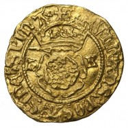 Henry VIII Gold Halfcrown