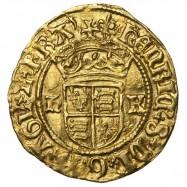 Henry VIII Gold Halfcrown