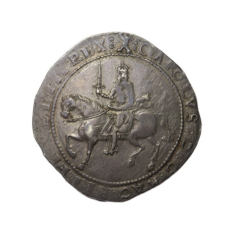 Charles I Exeter Silver Crown