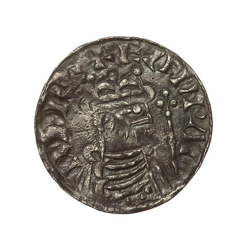 Edward The Confessor 'Hammer Cross' Silver Penny