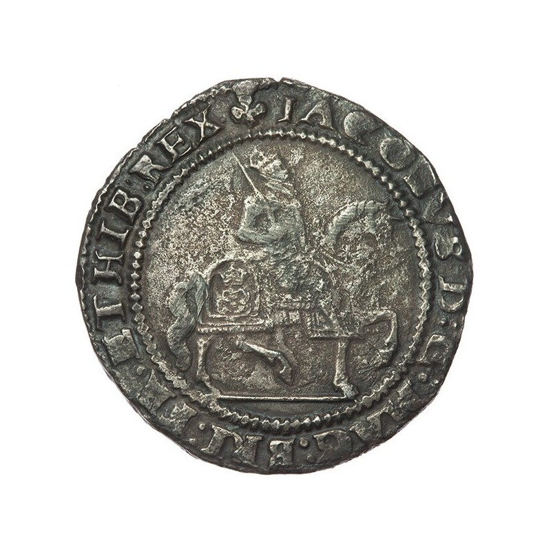 James I Silver Halfcrown