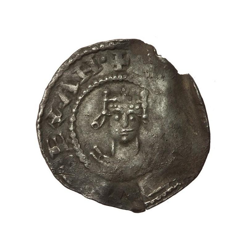 Henry I 'Facing bust/cross fleury' Silver Penny