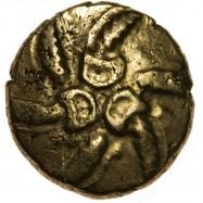 Catuvellauni 'Addedomaros Spiral' Gold Stater