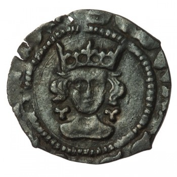 Edward IV Silver Halfpenny