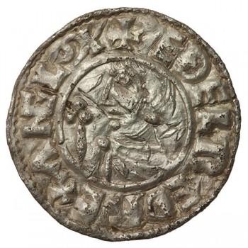 Aethelred II 'CRUX' Silver Penny Shaftesbury
