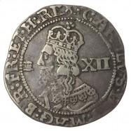 Charles I Silver Shilling Bristol