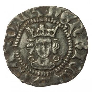 Henry VI Silver Halfpenny Annulet/Rosette-mascle Mule