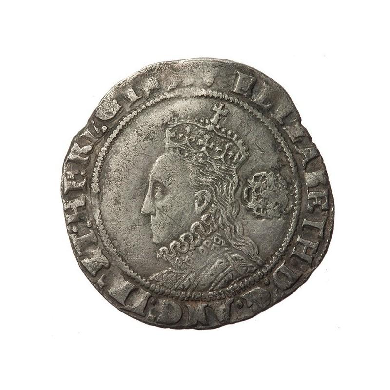 Elizabeth I Silver Sixpence 1573