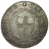Commonwealth 1656/4 Silver Crown