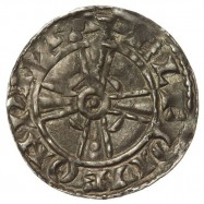 Edward The Confessor 'Expanding Cross' Silver Penny