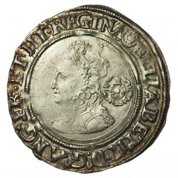 Elizabeth I Silver Sixpence 1565
