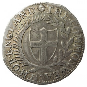 Commonwealth 1651 Silver Shilling