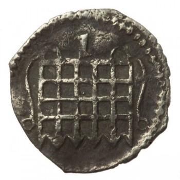 Elizabeth I Silver Halfpenny