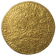 Edward IV Gold Ryal Flemish Imitation