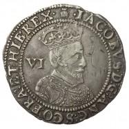 James I Silver Sixpence 1603
