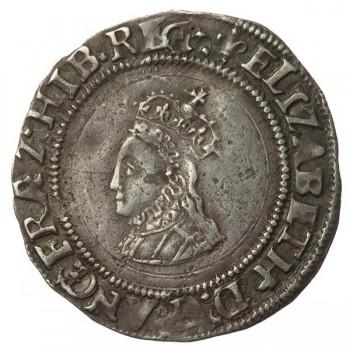 Elizabeth I Silver Groat (halfgroat punches)