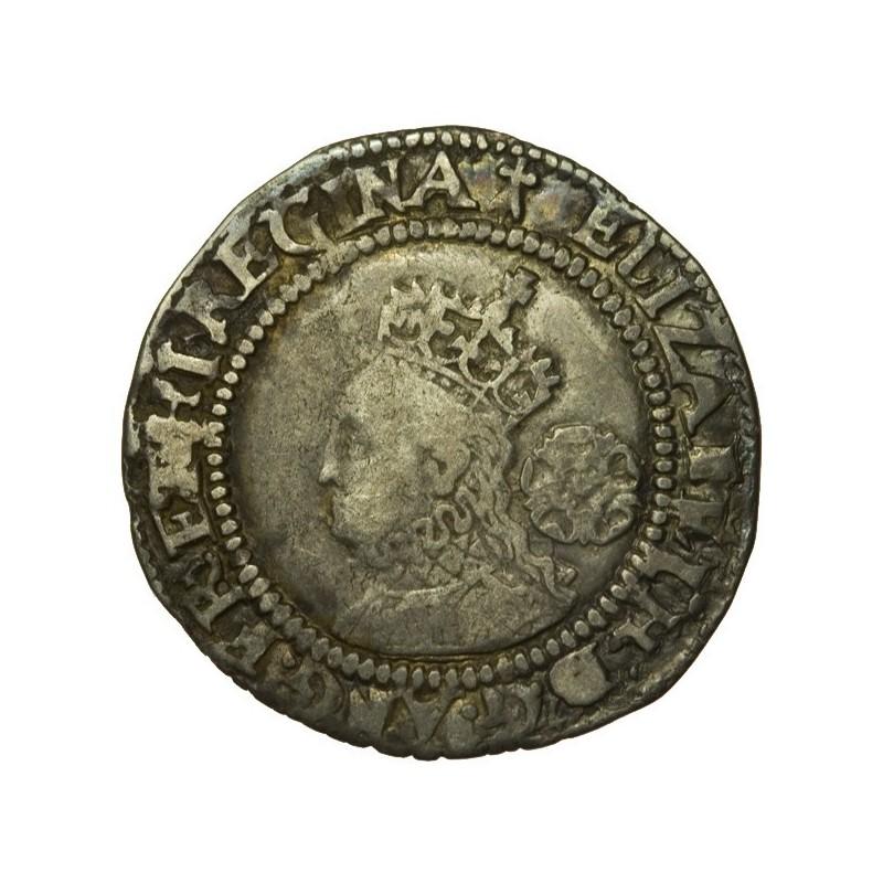 Elizabeth I Silver Sixpence 1572