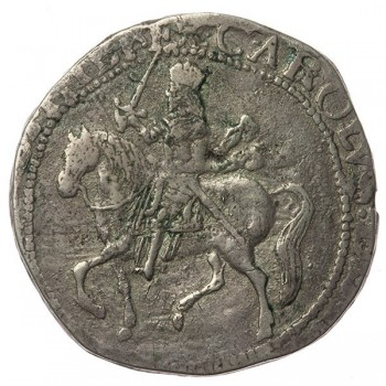 Charles I Silver Chester Halfcrown