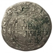 Charles I Chester Silver Halfcrown