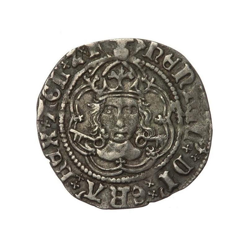 Henry VII Silver Halfgroat York
