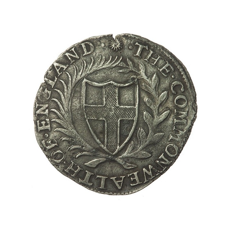 Commonwealth 1651 Silver Sixpence