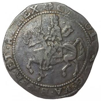 Charles I Exeter Silver Halfcrown