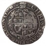 Charles I Aberystwyth Silver Sixpence