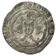 Edward III Silver Groat F/Ga Mule