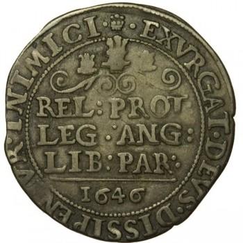 Charles I Bridgnorth Silver Shilling
