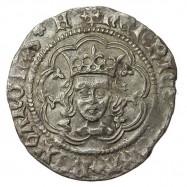 Henry VI Silver Halfgroat Rosette-mascle